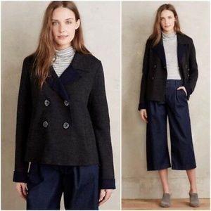 Anthropologie Wool HWR Bonette Boiled Jacket